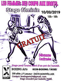 Boxing Arts - les femmes_ des coups aux