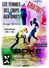 boxing arts Les femmes des coups aux dro
