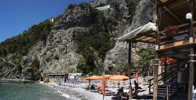 Terrazza con vista mare Amalfi