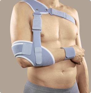 Il peso del braccio agisce nella riduzione della clavicola