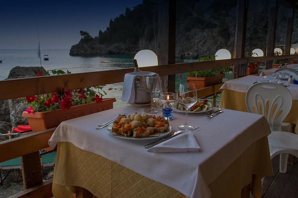 Ristorante con vista mare Amalfi