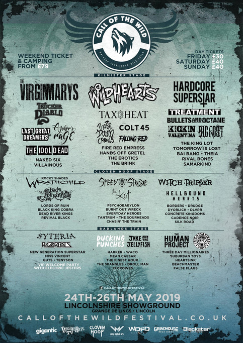 Call of the Wild Festival 2019 - Are you coming to Lincolnshire's Biggest Rock Festival?