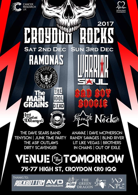 Croydon Rocks Festival 2017