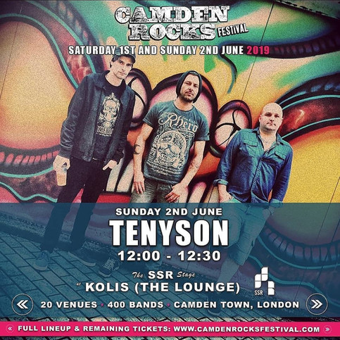 Tenyson - Camden Rocks Festival 2019