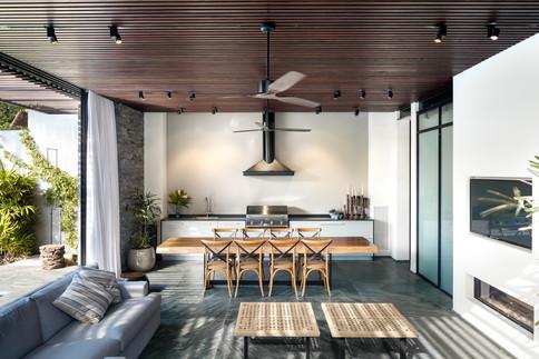 Outdoor kitchen design by Nurit Leshem