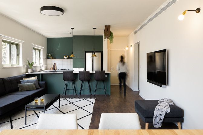Givataiim Apartment. Design by Local Studio - Shelly and Reut
