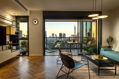 TLV Apartment Design by Elad ben Nahmias