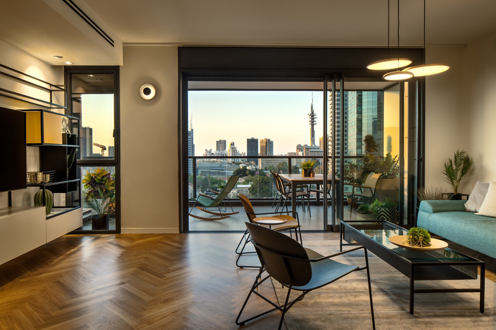 TLV Apartment Design by Elad ben Nahmias