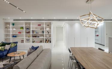 Tel-Aviv Apartment . Design by Liad Twena