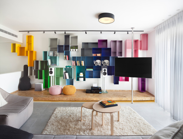 Apartment in Tel-Aviv Design by Hameatzvot-Lucy and Lital