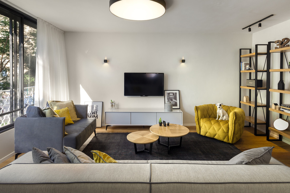 Raanana Apartment. Design by Nurit Mor-Yosef_