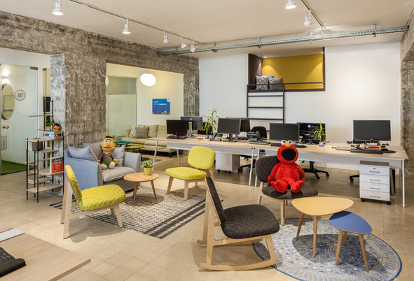 Yotpo offices Design By Shelly Ofek