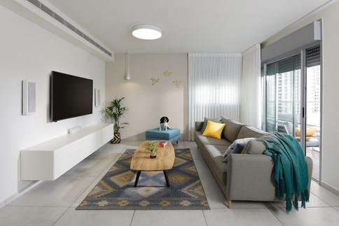 Holon Apartment.Design by Bella Shviro