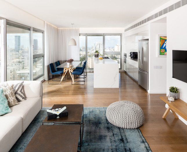 Apartment in Tel-Aviv Design by Keren Klein