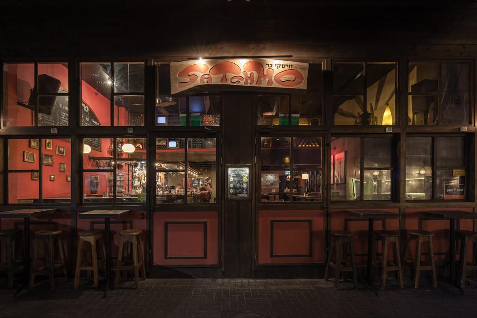 Sachmo Bar Design By Oren Lasry