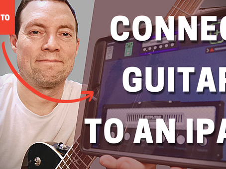 Connect your Guitars to iPad or iPhone Easily