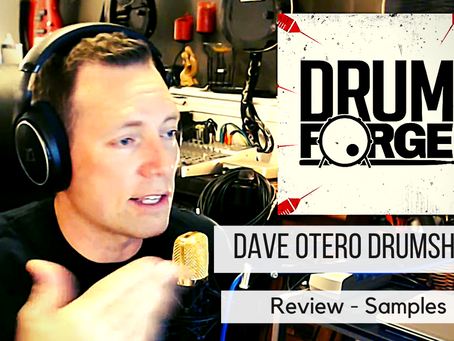 Let's review Dave Otero DrumShotz Sample Pack!