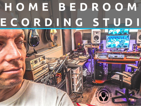 HUMBLE HOME RECORDING STUDIO | Simple Setup Bedroom Tour 2020