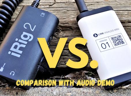 iRig 2 VS Link Analog Mini // Comparison
