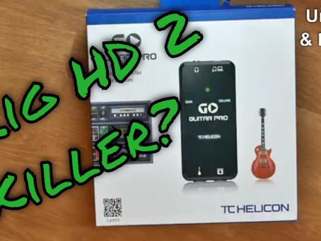 TC Helicon Go Guitar Pro - iRig HD2 killer?