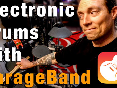 Get the dust off - Record Electronic Drums into GarageBand