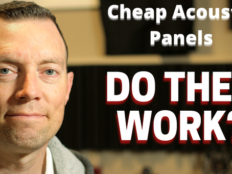 Are Cheap Acoustic panels worth it?