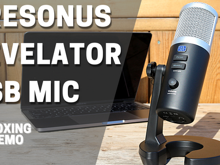 Presonus Revelator USB Mic - Unboxing and Demo
