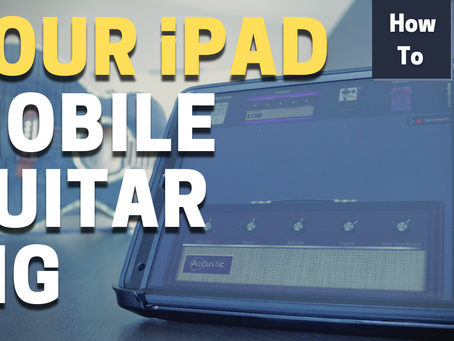 Use your iPad as a Live Guitar Rig