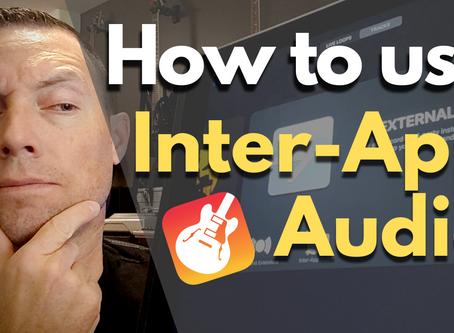 What is Garageband Inter-App Audio?