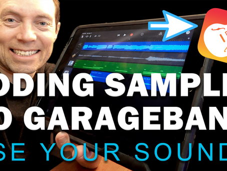 HOW TO ADD SAMPLES TO GARAGEBAND | any iOS device in 2020