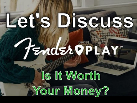 Have you tried Fender Play?