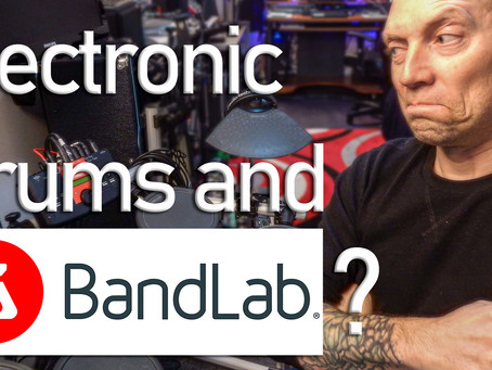 Can you record Electronic Drums in Bandlab?