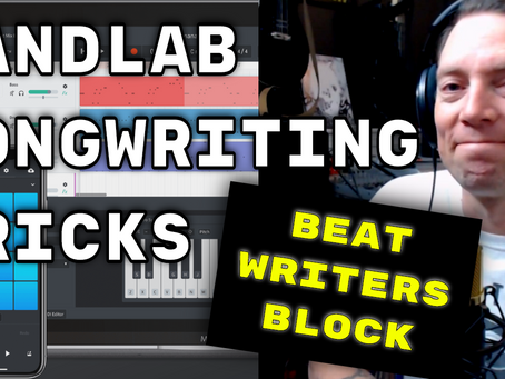 Bandlab Songwriting Tricks | Writers Block Hacks