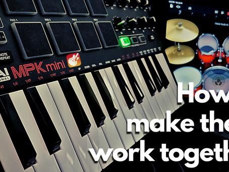 How to Program Akai MPK for GarageBand Drums on iOS