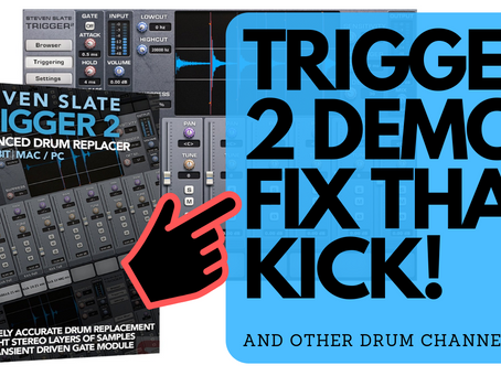 Kick Drum Weak? Fix it with Slate Trigger 2 Drum Replacement