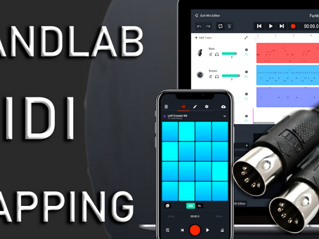 How to use Bandlab Midi Mapping Feature