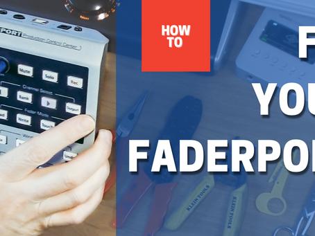 Repair your Faderport