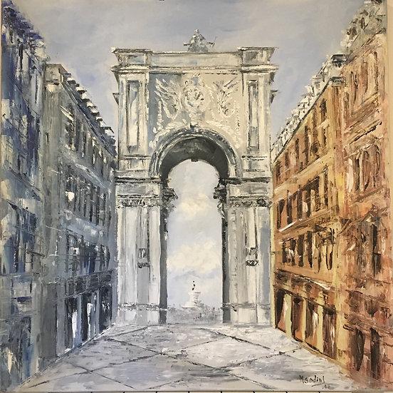 Arco da rua Augusta...Lisboa