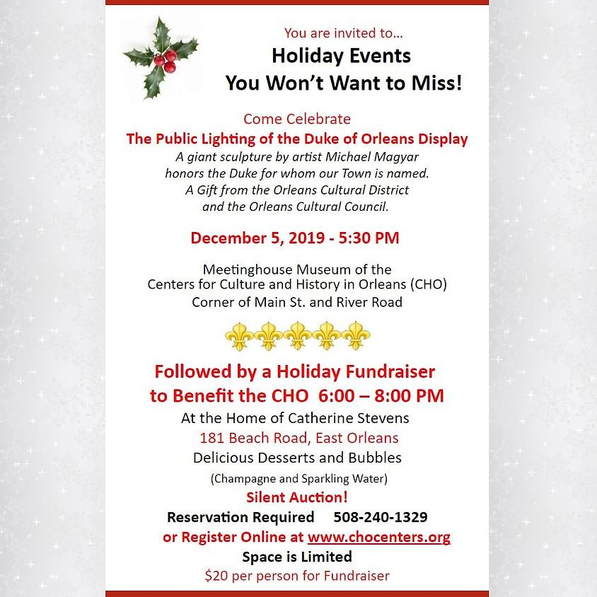 Duke of Orleans Holiday Fundraiser