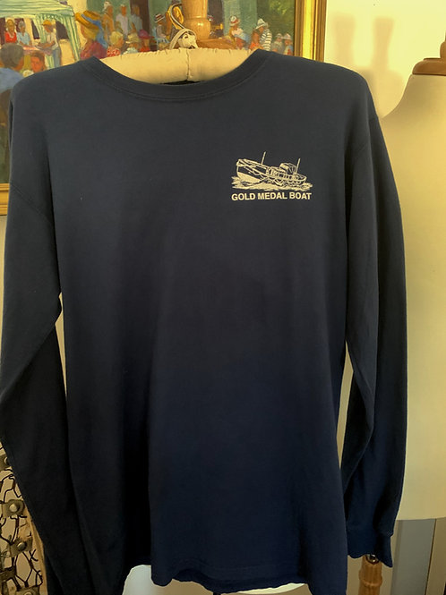 Long Sleeve Tshirt - Navy unisex