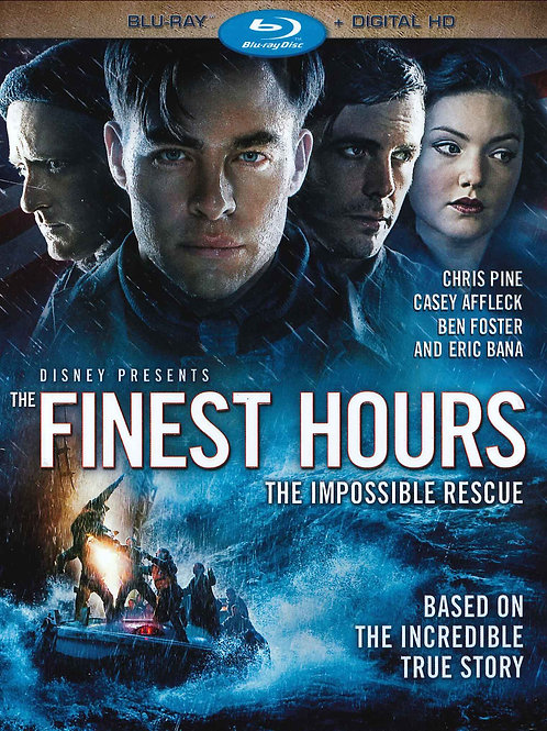 The Finest Hours - Blu Ray DVD