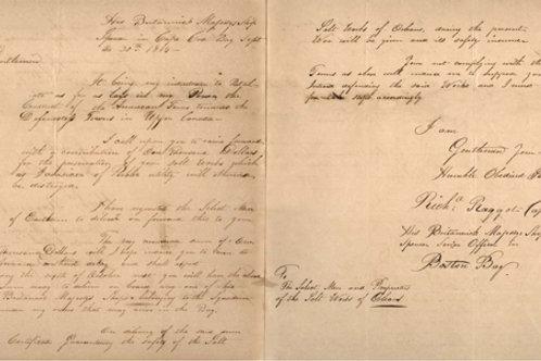 "Member - War of 1812 ""Ransom Request"""