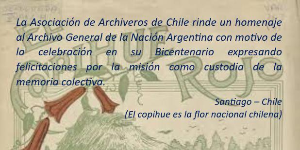 Bicentenario del Archivo General de la Nación Argentina