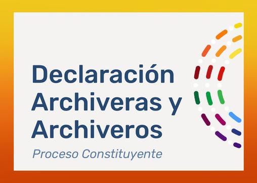 Las Archiveras y Archiveros de Chile ante la Convención Constitucional