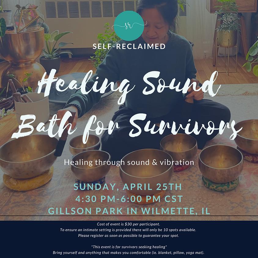 Healing Sound Bath for Survivors (Postponed)
