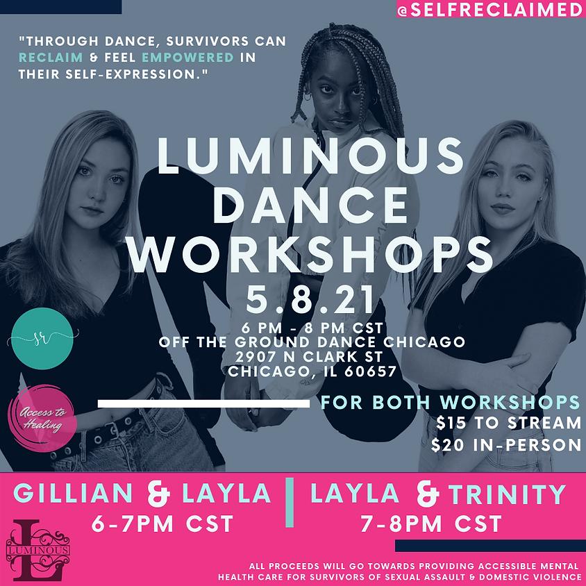 Double Luminous Dance Workshops