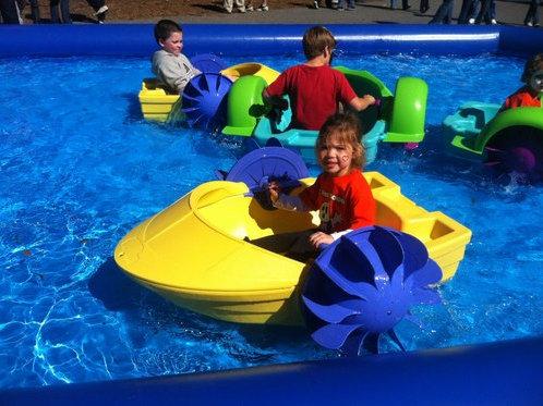 Aqua Peddel bootjes