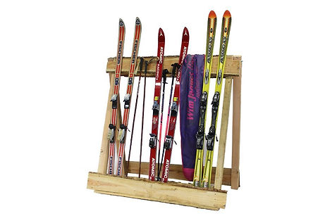 204282-204282-skirek-met-skis-decoratie-