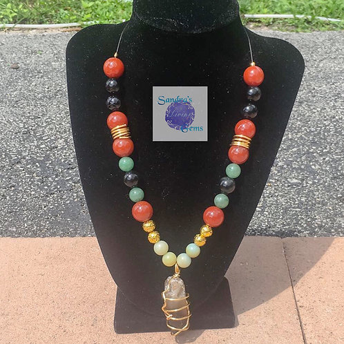 King Virtuous Virgo Necklace