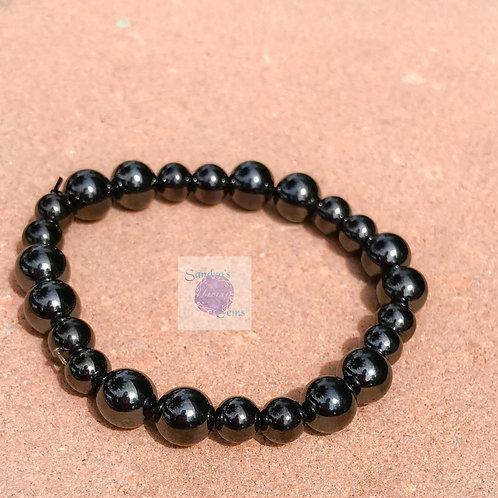 Unisex Hematite Bracelet